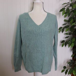 Sonoma Cable Knit Sweater M